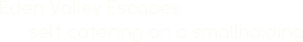 www.edenvalleyescapes.co.uk Logo